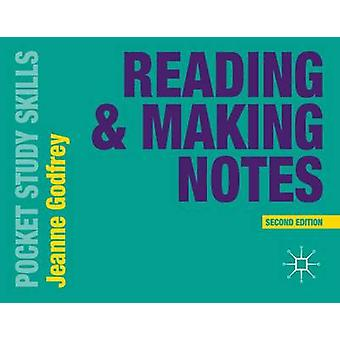 Reading and Making Notes (2nd New edition) by Jeanne Godfrey - 978113