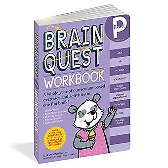 Brain Quest pré-maternelle classeur [avec des autocollants]
