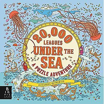 20000 leagues Under the Sea: Puzzle seikkailu (Aleksandra Artymowska palapelit)