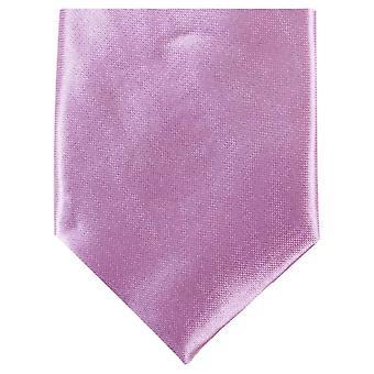 Gravata de poliéster magro Neckwear Knightsbridge - rosa claro