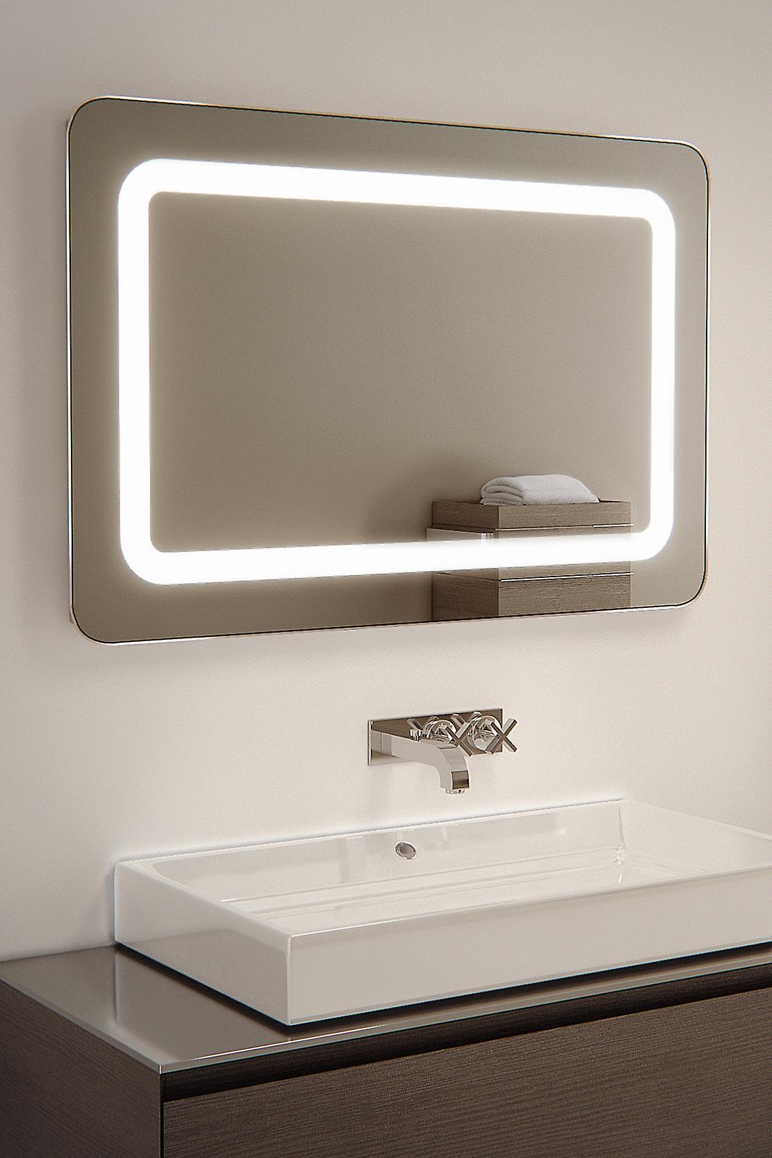 Raja Shaver LED Bathroom Mirror With Demister Pad & Sensor k45i