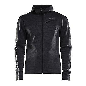 Craft Mens Eaze Jersey Hood Jacket