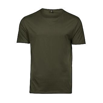 Tee Jays Mens Raw Edge Short Sleeve T-Shirt