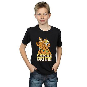 Scooby Doo Boys Chicks Dig Me T-Shirt