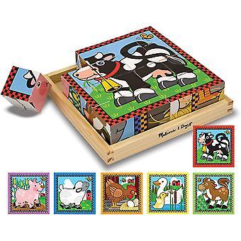 Jigsaw Puzzle 16szt 8