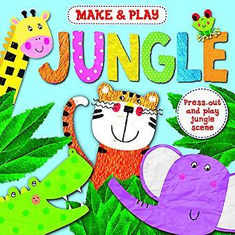 Make & Play Jungle by Angela Muss - 9781784046729 Book