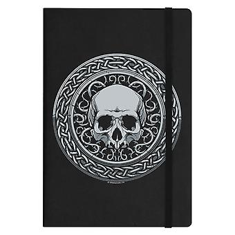 Grindstore Roman Skull A5 Hard Cover Notebook