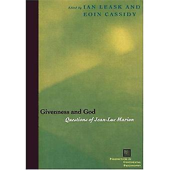 Givenness en God: vragen van Jean-Luc Marion (vooruitzichten in continentale filosofie)