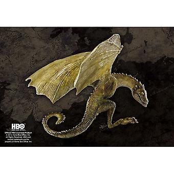 Peli Thrones Rhaegal Baby Dragon Figurine