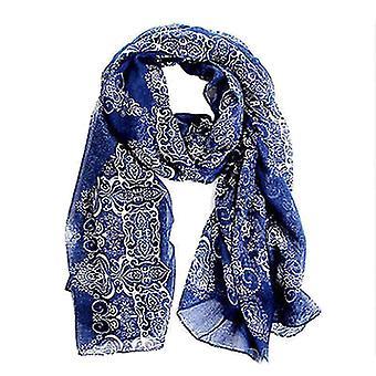 ® womens large summer porcelain chiffon oversized long wrap thin style scarf