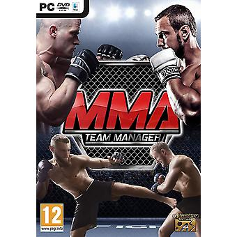 MMA team manager PC DVD spel