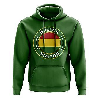 Bolivia Football Badge Hoodie (Green)