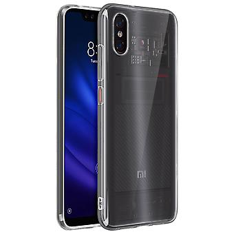 Akashi Crystal protection étui souple Xiaomi mi 8 Pro-transparent