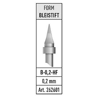 Stannol B-0,2-HF Soldering tip Pencil-shaped Content 1 pc(s)