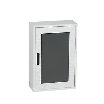 自己 48x32cm とホーム浴室ホワイト木製壁掛けキャビネット