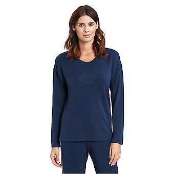 Feraud 3191090-16550 Women's Casual Chic Frozen Green Loungewear Sweatshirt Top