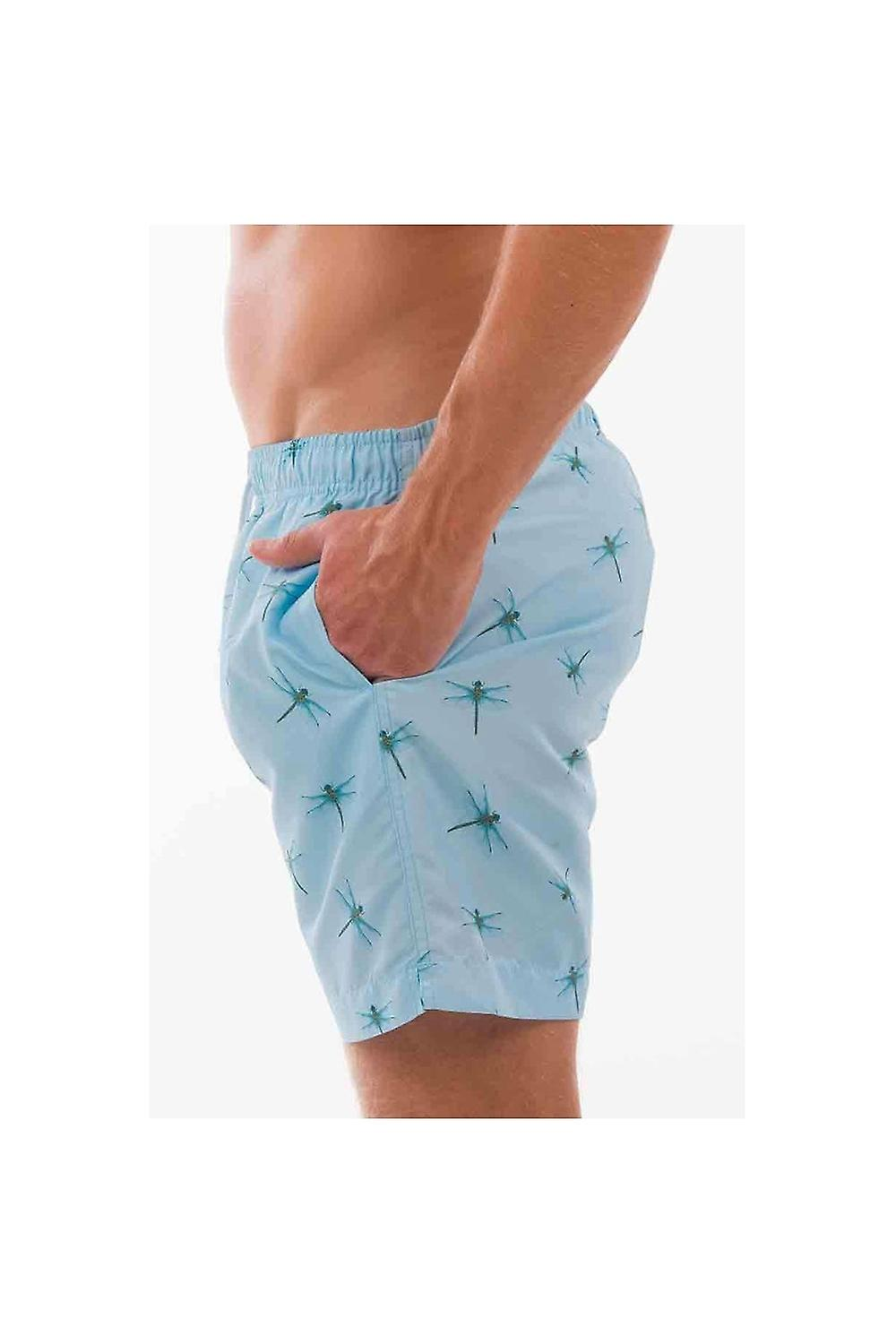 Franks Swim Shorts Franks Mid Length Swim Shorts Floreat Sky