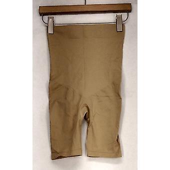 Slim ' N Lift shapewear estiramento malha emagrecimento & Shaping shorts bege