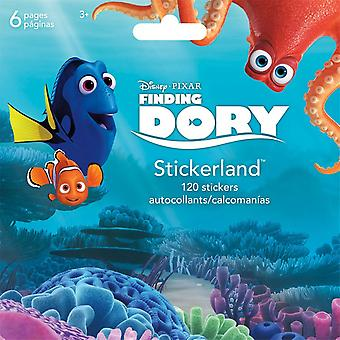 Mini Stickerland Pad - Finding Dory - 6 pages Toys Stationery New st2308