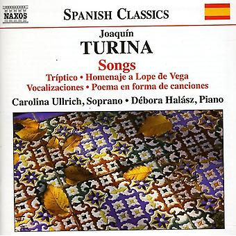 J. Turina - Joaqu N Turina: Songs [CD] USA import