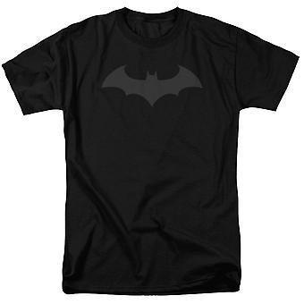 Batman Hush Logo Black on Black Men's T-Shirt