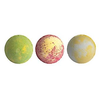 Set Of 3 Pina Colada Caribbean Dream Cocktail Bath Bombs