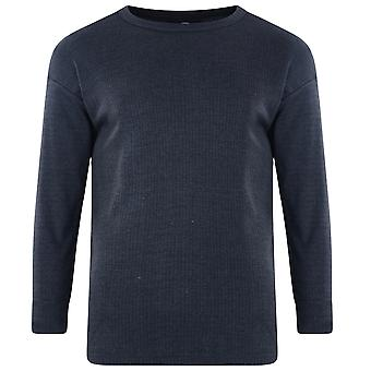 Kam Jeanswear Herren Langarm Thermal T-Shirt