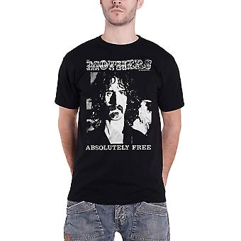 Frank Zappa T Shirt Mothers of Invention Absolutely Free new Official Mens Black