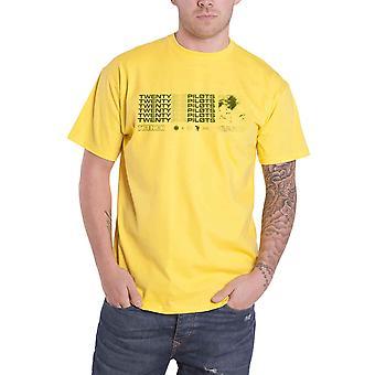 Kaksikymmentä yksi lentäjät T paita kaivannon Stacker yhtyeen Logo uusi virallinen miesten keltainen
