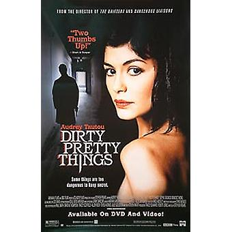 Dirty Pretty Things (singolo video laterale) Video originale / Dvd Ad Poster
