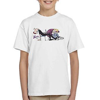 Zits Asleep In Class Kid's T-Shirt