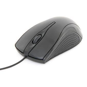 PC Computer USB kabelgebundene optische Maus 800dpi ergonomische beidhändig Scroller braun Box (Mac/Windows)