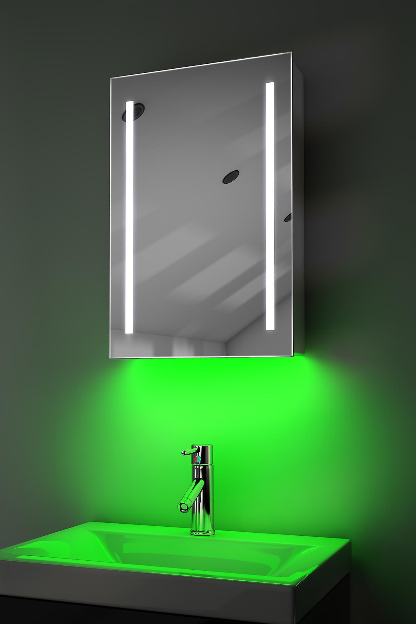 Demist Cabinet With RGB , Sensor & Internal Shaver k348rgb