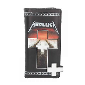 Metallica Purse Master Of Puppets Embossed Band Logo new Official Black