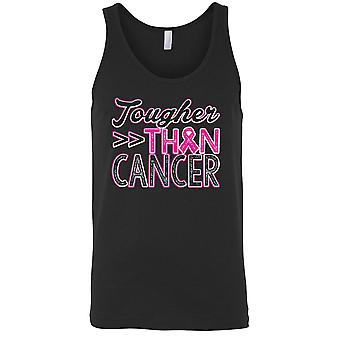 Men's Tank Top Breast Cancer Awareness Tougher Than Cancer