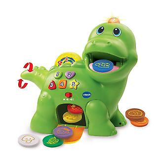 Vtech Baby Feed Me Dino, Recognises Colours & Food! 130+ Songs!