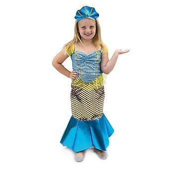 Magnificent Mermaid Children's Costume, 3-4