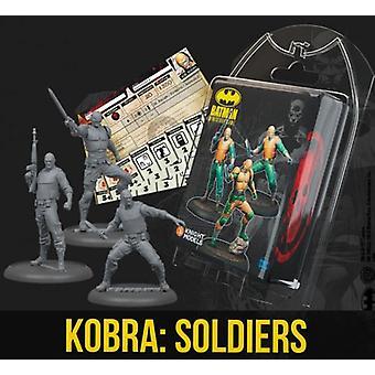 Batman Miniatures Game Kobra Soldiers