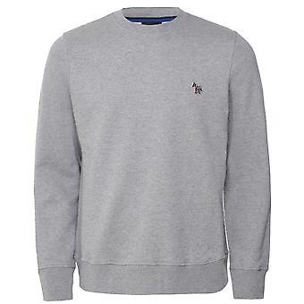 PS di Paul Smith Organic Cotton Crew Collo zebra Sweatshirt