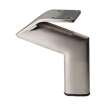 Edelstahl Design Möbel Bein 10 cm