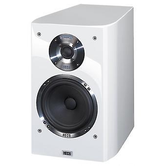 Heco Celan GT 302, 2 manieren Bass Reflex, plank speaker, wit, 1 stuk