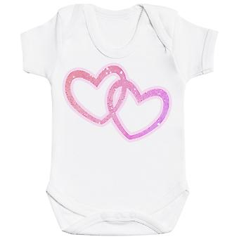 Outline Dual Heart - Baby Bodysuit