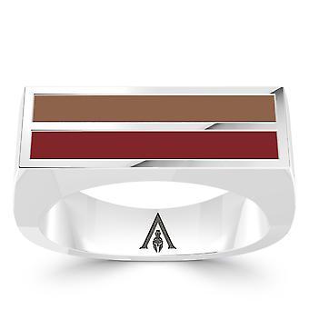 Vermoord 'apos; s Creed Odyssey ring in Sterling Zilver ontwerp door BIXLER