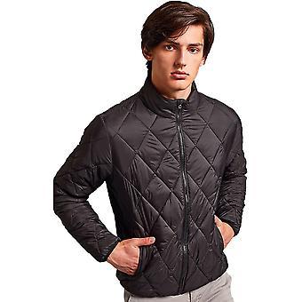 Outdoor Look Mens Diamond Pane Lightweight Padded Jacket