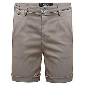 Replay Hyperflex Color Chino Edition Shorts