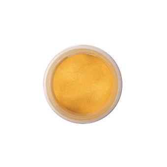 Kleur splash Dust parel rijk goud 5g