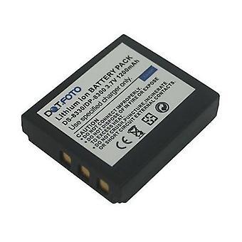 Dot.Foto Acer BT.8530A.001, 02491-0028-01 batería de repuesto - 3.7v / 1200mAh - 2 años garantía - Acer CP-8531, CP-8660, CP-X530, CR-8530