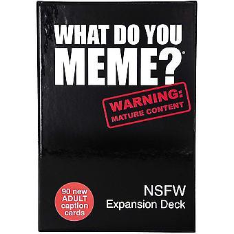 Was memesier? - NSFW-Erweiterung