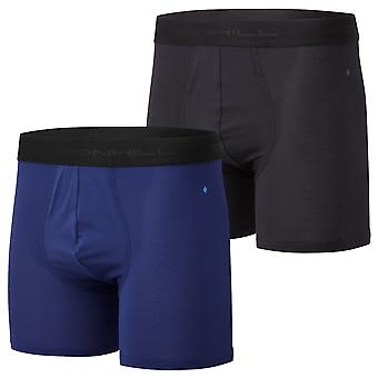 """Ronhill Hombres Hombres 4.5"""" Transpirable Ligero Wicking Skin Fit Boxers"""