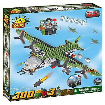 Small Army 300 Piece Aircraft Hurricane Construction Set